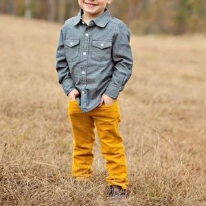 Nwt Baby Gap mustard yellow 2T jeans slim fit
